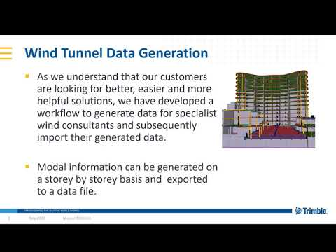 Improve Tall Building Design with Wind Tunnel Assessment For Fast & Easy Diaphragm Load Application