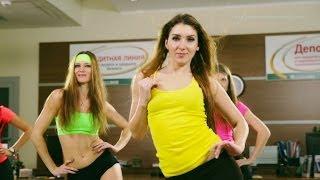 Утренняя зарядка / упражнения для похудения. Fitness motivation (Full HD)
