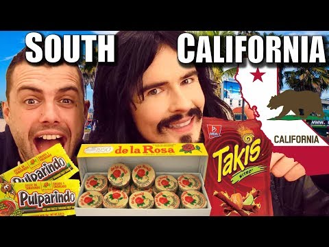 Irish People Taste Test 'SOUTHERN CALIFORNIA' - Drinks / Treats / UnBoxing!!