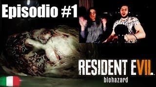 Resident Evil 7 | Biohazard | Episodio #1 con Maria! Gameplay ITA con Webcam