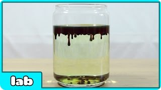 Science Experiments That You Can Do At Home - Raining Blood Science Experiment