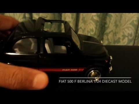1/24 Fiat 500 F Berlina Diecast Model (Quick Tour)