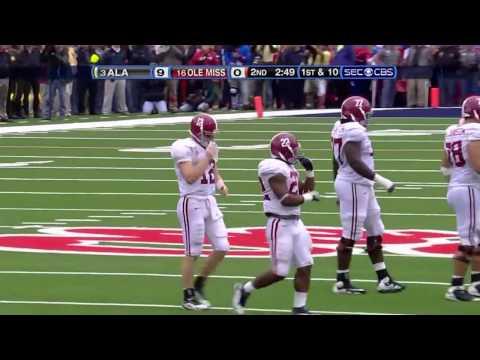 2009 #3 Alabama Vs. #16 Ole Miss (HD)