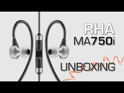 RHA MA750i - Unboxing ((PT))