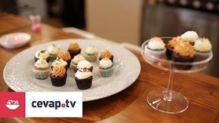 Çikolatalı hindistan cevizli cupcake nasıl yapılır?