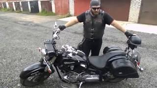 Обзор мотоцикла Yamaha XVS 1100 V-Star и Dragstar от собственника