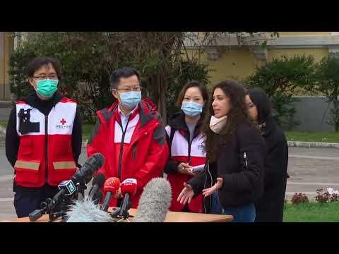 Coronavirus, la conferenza stampa dello Spallanzani di Roma con l'equipe di medici cinesi