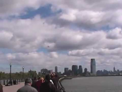 Space Shuttle Enterprise - New Jersey, Statue of Liberty, New York Fly Over