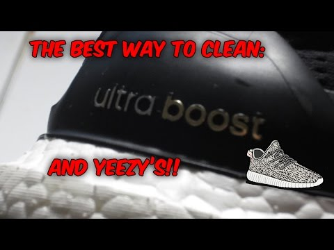 THE BEST WAY TO CLEAN BOOST!!! (YEEZYS ULTRA BOOST NMD'S)