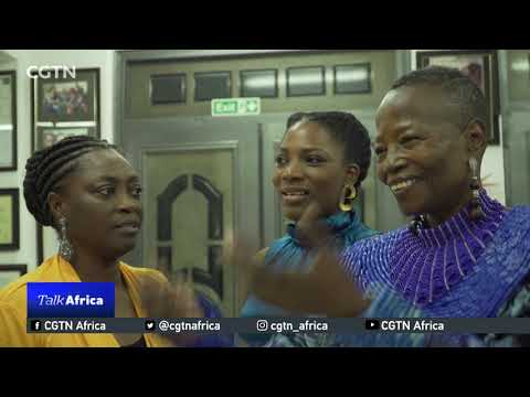 Talk Africa: Conversation with chief Nike Okundaye Africa's queen of textile