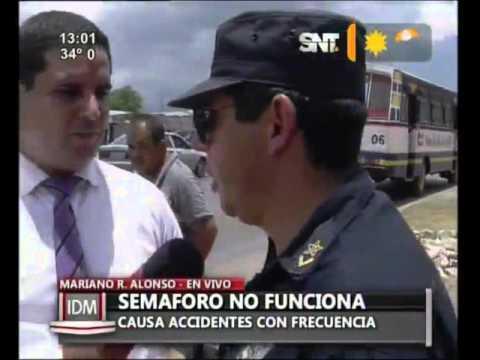 Download Semáforos no funcionan en Mariano Roque Alonso