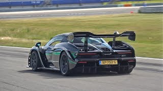 McLaren Senna Going Flatout on Track!