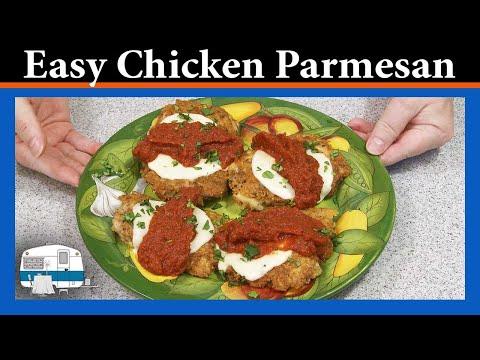 Best Chicken Parmigiana (Parmesan)