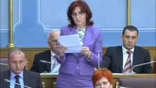 Veselinka Pekovic: Da li ce Vlada sanirati domove u Niksicu?