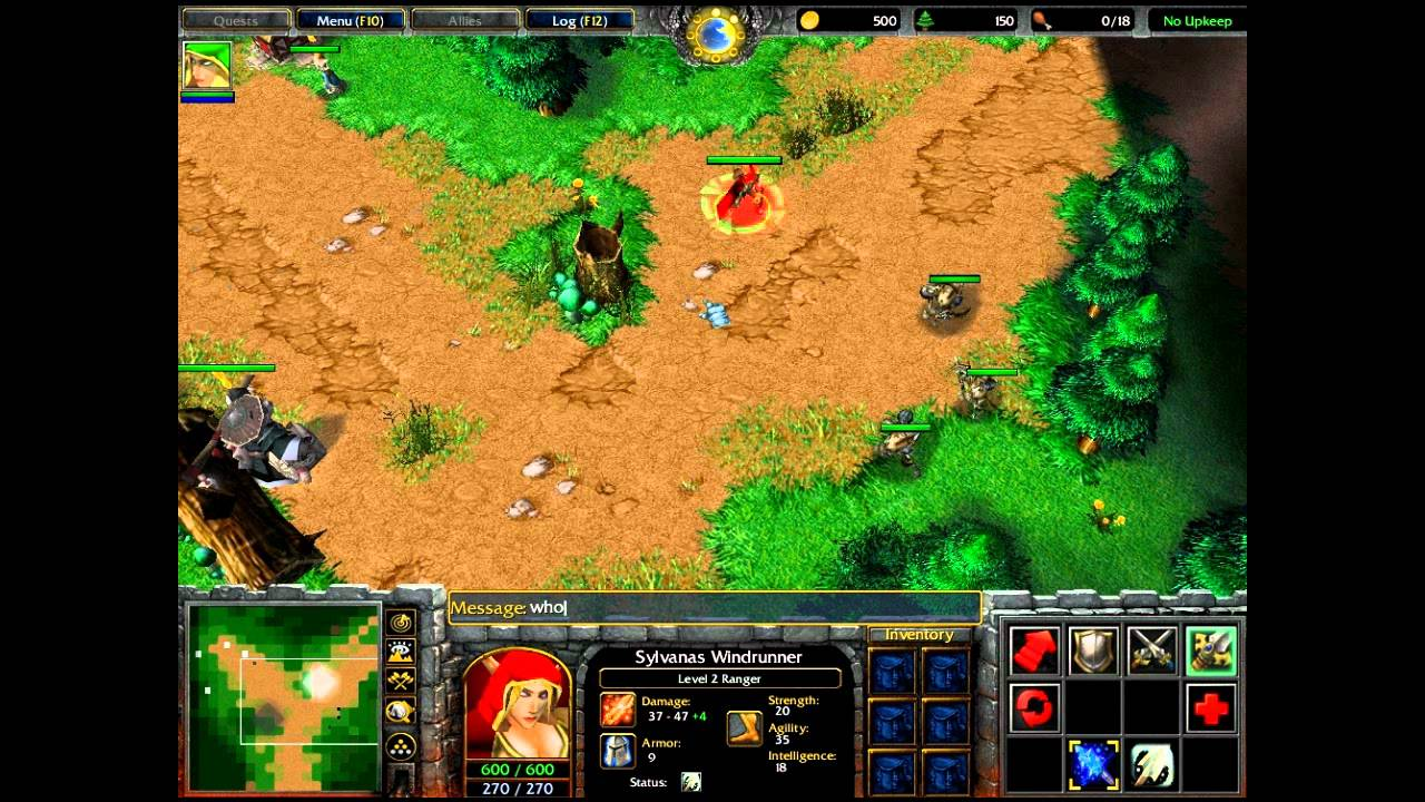 Theefs warcraft 3 world editor tutorial 10 multiple quests theefs warcraft 3 world editor tutorial 10 multiple quests quest with item youtube publicscrutiny Images