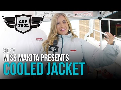 2016 Makita 18V  Jacket DFJ201Z with Miss Makita 3 of 7