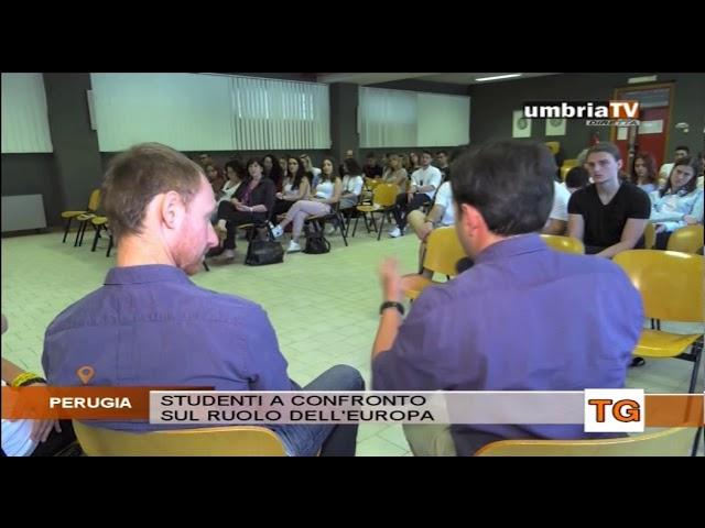 """""""Erasmus+ Umbrianet""""  il racconto delle esperienze dei ragazzi"""