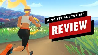 Ring Fit Adventure Review (Video Game Video Review)