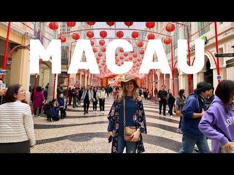 "Macau - ""Las Vegas"" of Asia - Day Trip from Hong Kong (1080p HD) | Magda T"