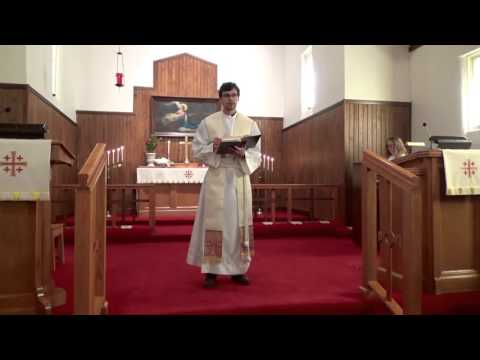 Our Redeemer Lutheran Church (LCMS) 4-24-16 Service