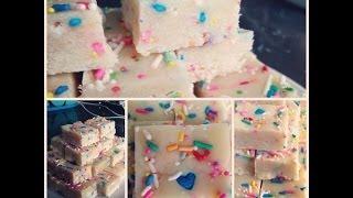 Foodie: Cake Batter Fudge