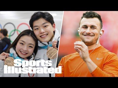 Alex & Maia Shibutani On 2018 Olympics, Johnny Manziel's Future | SI NOW | Sports Illustrated