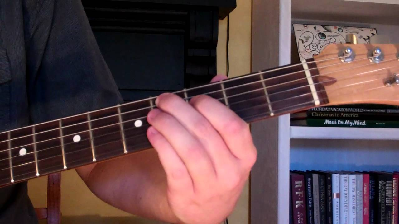 How To Play The C9 Chord On Guitar C Sharp Ninth 9th Youtube