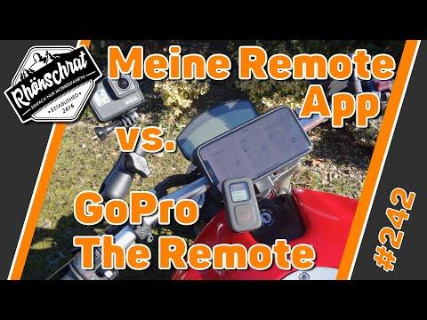 GoPro - The Remote vs. meine Remote App | #242