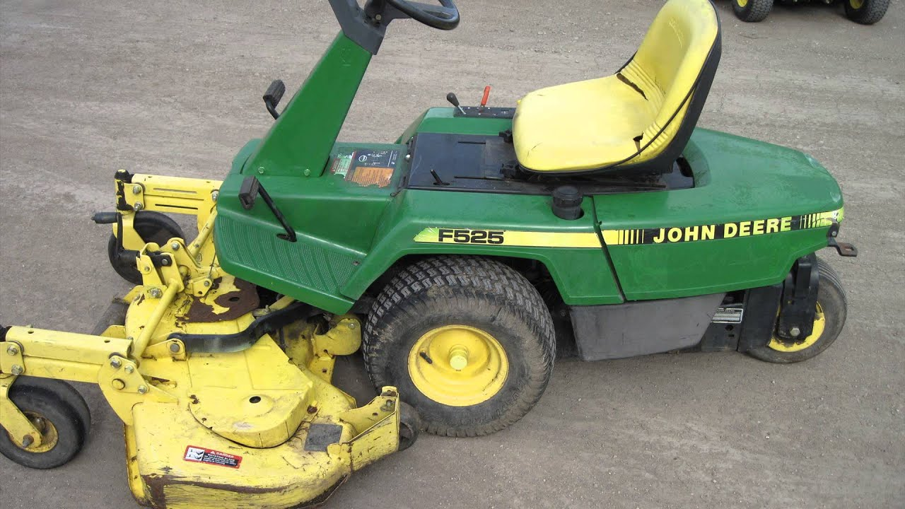 John Deere F525 Lawn Mower Youtube