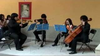 Cuarteto en re menor K. 173 / W. A. Mozart  (Parte I)