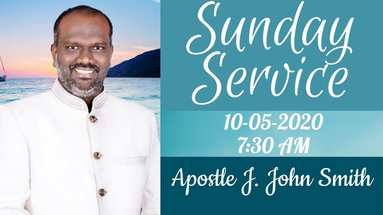 Sunday Service 10 05 2020 Tamil Service Apostle J John Smith Zerubbabel Pentecostal Church Youtube