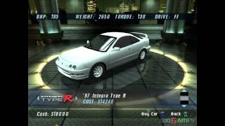 The Fast and the Furious - Gameplay PS2 HD 720P