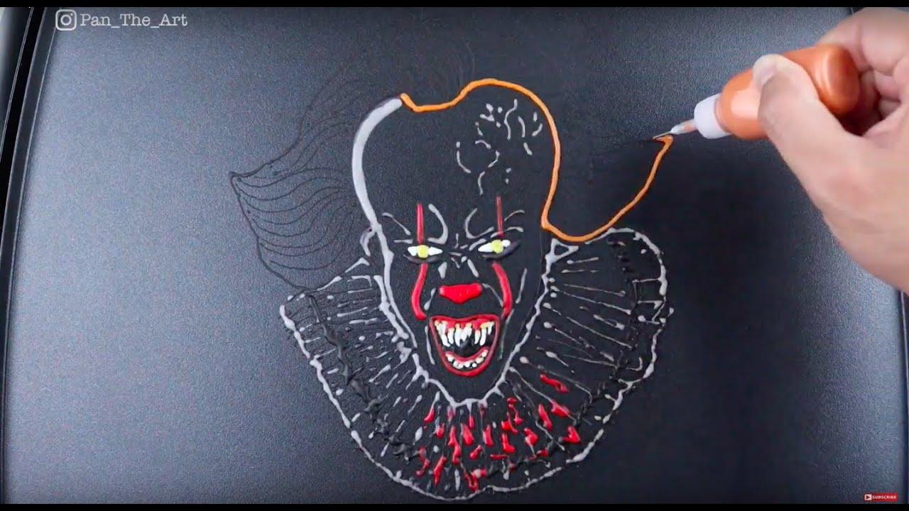 Pennywise The Dancing Clown Pancake  - Pan The Art -