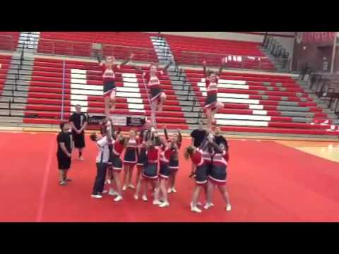 Madison Jr High 8th grade cheer