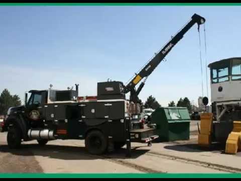 diy service truck crane
