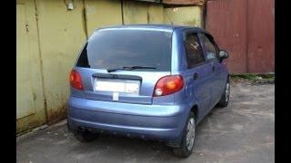 Daewoo Matiz - Замена задних подшипников и задних колодок
