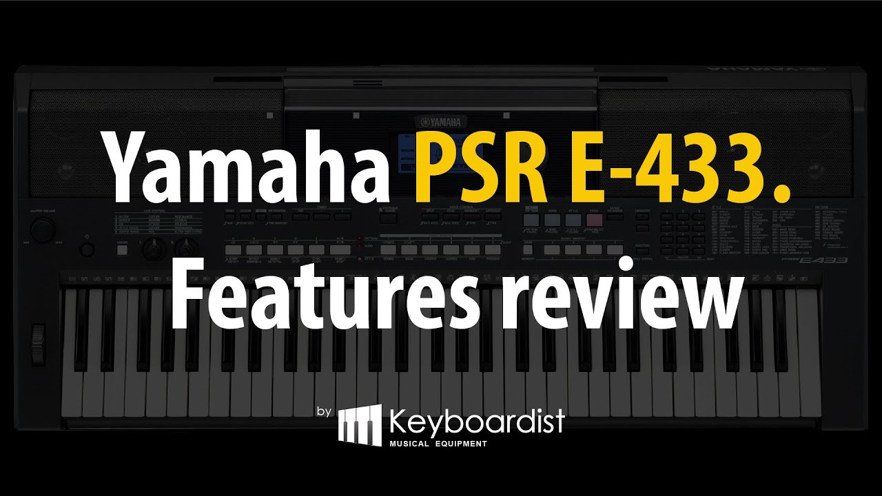 Yamaha YPT-340 review | Digital Piano Review Guide
