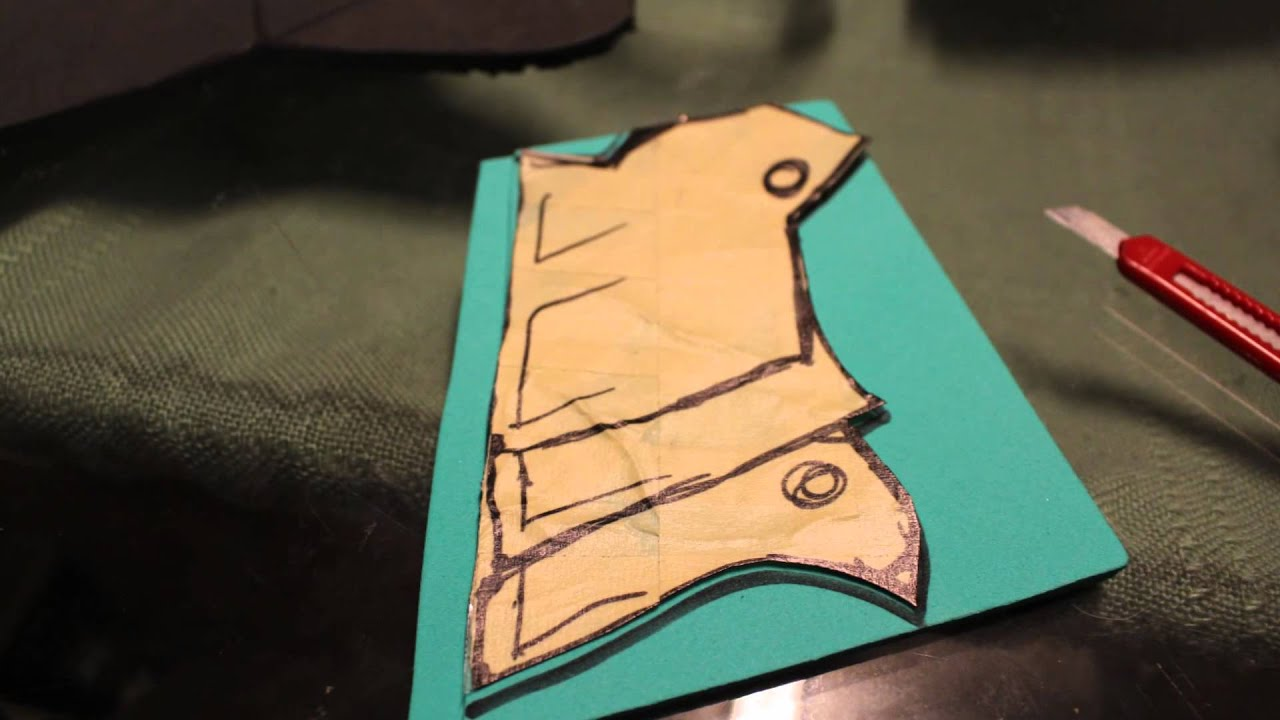 battle armor template craft dad youtube