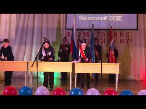 Посвящение в кадеты 💂🏽♀️ разборка сборка автомата Калашникова