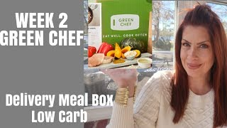 WEEK 2 GREEN CHEF LOW CARB/Beauty over 50