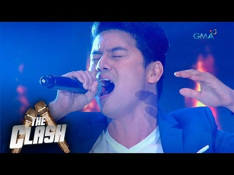 The Clash: Nolo Lopez impressed the judges with Take Me Out Of The Dark