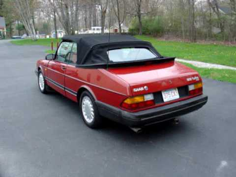 1988 saab 900 turbo convertible youtube. Black Bedroom Furniture Sets. Home Design Ideas