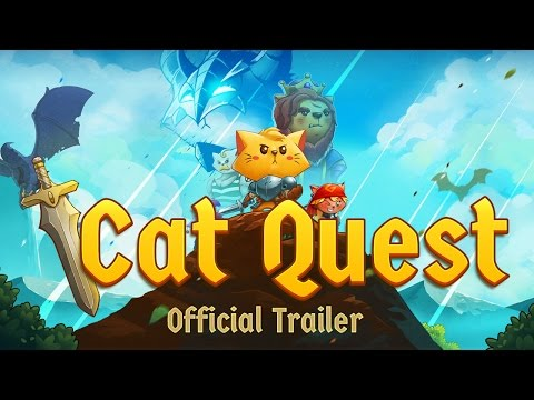 Cat Quest - Steam, iOS, Android - Official Trailer