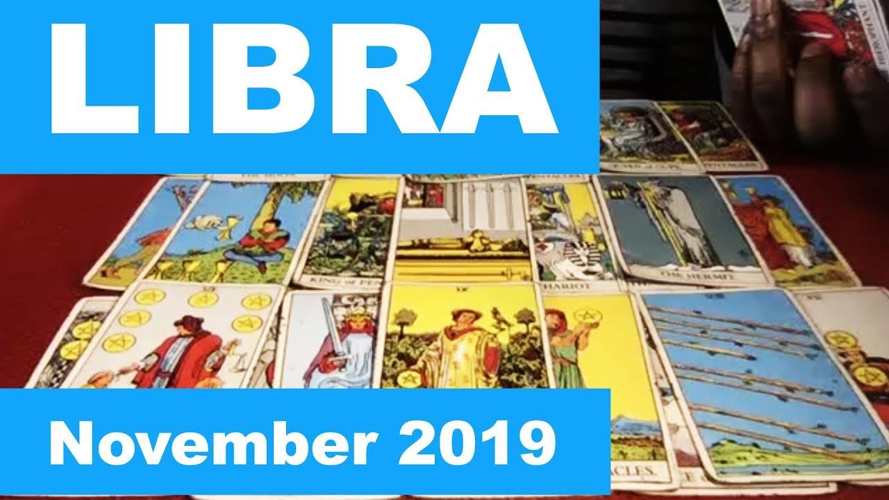 libra november 2019 tarot