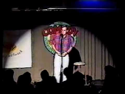 David Pryde in Just for Laughs Competition 1999