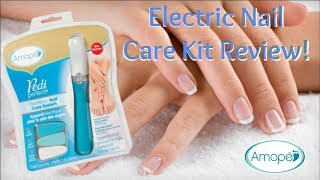 Amope Electric Nail Care How to use & Review it in a Minute! | Nikki Stixx