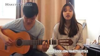 YÊU - Min ST 319 - Guitar cover | Hannah Hoang ft. Haketu