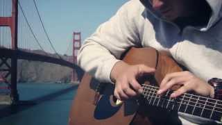 """""""Tailwind"""" PERCUSSIVE ACOUSTIC GUITAR by Chris Conway"""
