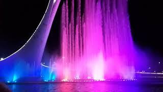 Поющие фонтаны олимпийский парк Сочи 2019 г. ⛲