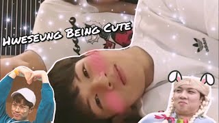 yoo hweseung being cute for 6 minutes